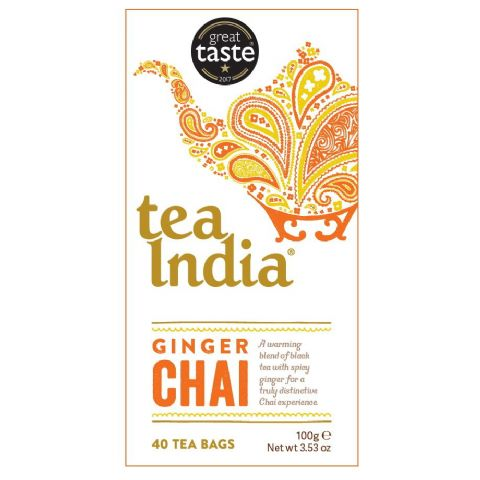 Ginger Chai Tea India 100g (40 Tea Bags)
